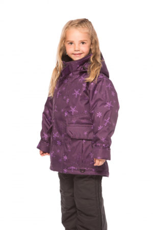 MANTEAU NUNAVIK NUNAM-FLO POLYESTER SUBLIMATION FLOCON CÔTÉ